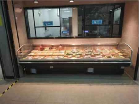 山东平口鲜肉展示柜