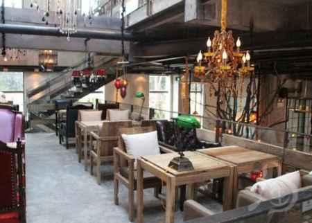 咖啡厅工程案例之韩国漫咖啡